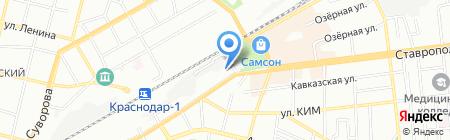 Детский сад №139 на карте Краснодара