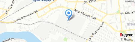 ЦМТО на карте Краснодара