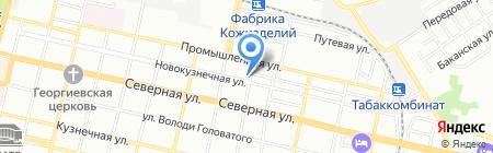 Ариум на карте Краснодара