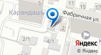 Компания Штрихкод на карте