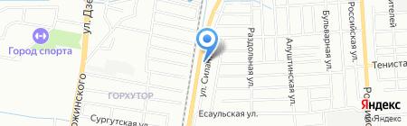 АвтоВек К на карте Краснодара