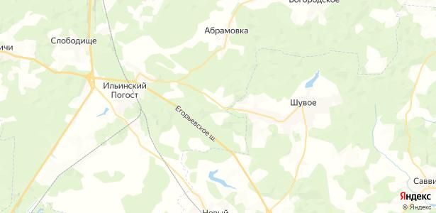 Устьяново на карте