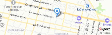 Основа-Инвест на карте Краснодара
