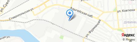 Регион 123 на карте Краснодара