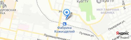 Азовочерноморская торговая компания на карте Краснодара