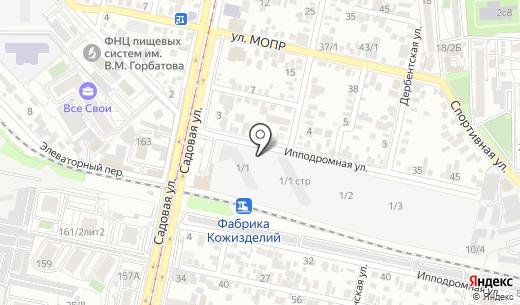 РостовЭлектроИнструмент. Схема проезда в Краснодаре