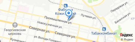 Broadway Travel на карте Краснодара
