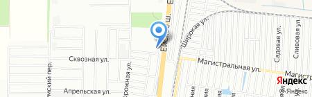 ЗЕВС на карте Краснодара
