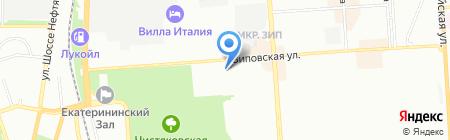 Агросемцентр-Кубань на карте Краснодара