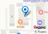 КЗВС на карте