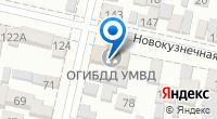 Компания Отдел ГИБДД Управления МВД г. Краснодара по Центральному округу на карте
