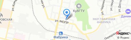 Диатим на карте Краснодара
