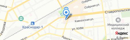 Банкомат Глобэксбанк на карте Краснодара
