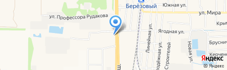 Экос-Юг на карте Краснодара