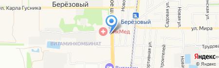 Продовольственный магазин на Ейском шоссе на карте Краснодара