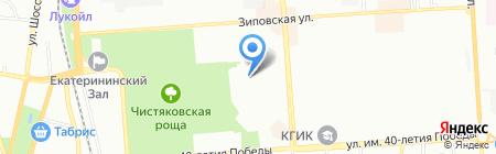 Детский сад №140 на карте Краснодара