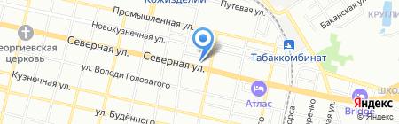 Змей Горыныч на карте Краснодара