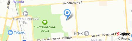Детский сад №159 на карте Краснодара