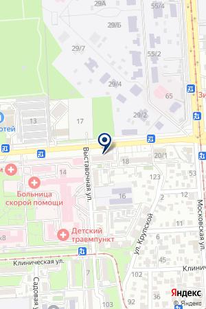 Продовольственный магазин на ул. 40 лет Победы на карте Краснодара