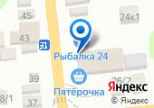 Продовольственный магазин на Широкой (Новотитаровская) на карте