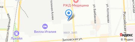 Стис-Краснодар на карте Краснодара