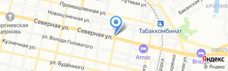РЕНЕЙССАНС СВЕТ на карте Краснодара