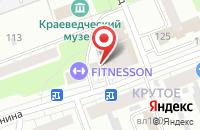 Схема проезда до компании Фаворит в Орехово-Зуево