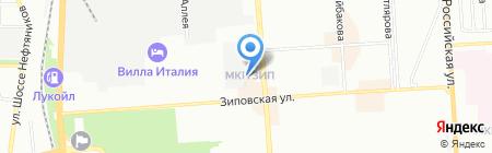 Детский сад №123 на карте Краснодара
