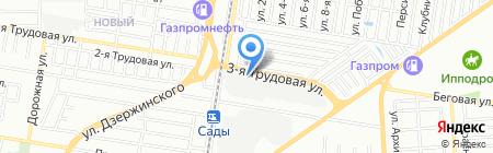 КрасныйХолмМебель на карте Краснодара