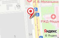 Схема проезда до компании Рип - Импульс в Краснодаре