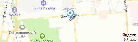 ЮСА на карте Краснодара
