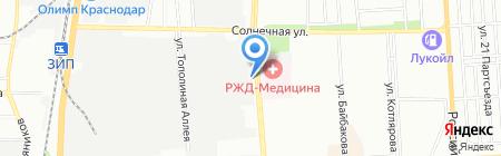 Компания Импульс на карте Краснодара