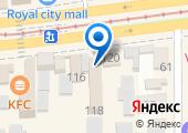 Визовый центр на карте