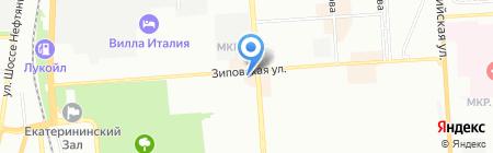 Медиа Сеть на карте Краснодара