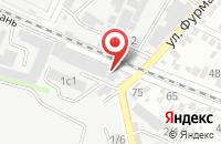 Схема проезда до компании Ариадна в Краснодаре