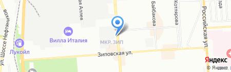 Люкс Хауз на карте Краснодара