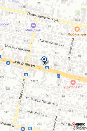 ВТОРОЕ МНЕНИЕ на карте Краснодара