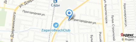 Евровит на карте Краснодара