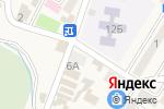 Схема проезда до компании Мясной магазин в Небуге