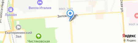 Буfet на карте Краснодара