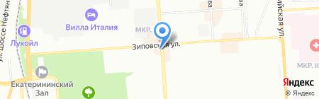Ёха-пицца на карте Краснодара