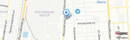 Ottima на карте Краснодара