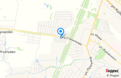 Местоположение на карте пункта техосмотра по адресу Московская обл, г Луховицы, проезд Строителей, влд 3А стр 2