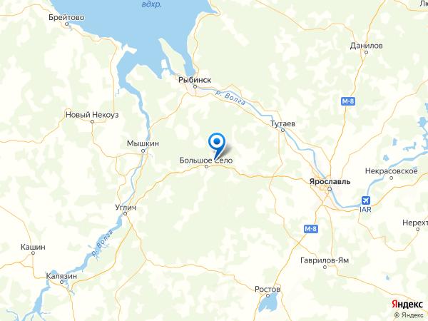 деревня Ваулино на карте