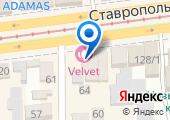 Многофункциональный визовый центр на карте