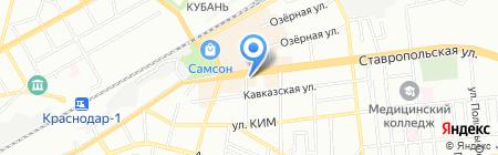 БАНК РОССИЙСКИЙ КРЕДИТ на карте Краснодара