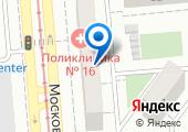 Городская поликлиника №16 на карте