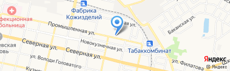 Лига Сервис на карте Краснодара