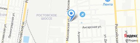 Гипермаркет Недвижимости на карте Краснодара