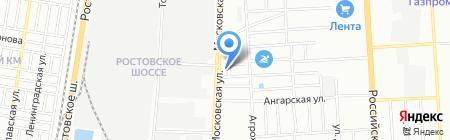 Мадам на карте Краснодара